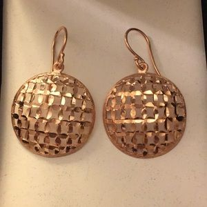 Jewelry - Rose gold earrings